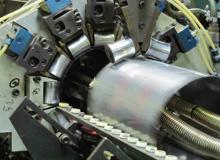 4リットル角缶シーム溶接機