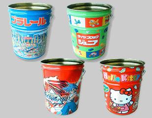 ファンシーペール缶