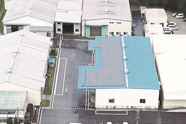 千葉工場ソーラーシステム
